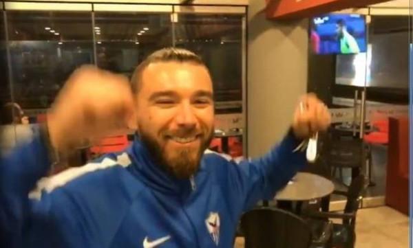 Παναθηναϊκός - Ολυμπιακός: Έτσι... γλέντησαν Πράνιτς και Σίλντενφελντ! (video)