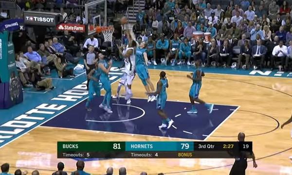 NBA: Διπλός… Αντετοκούνμπο στο Top 10 (video)