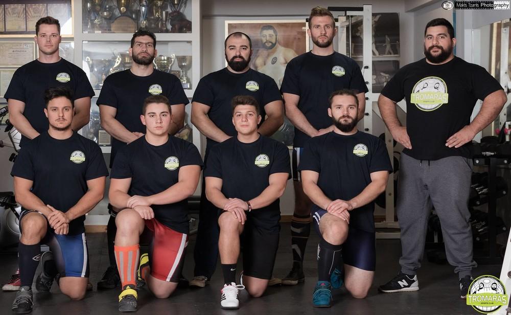 Με οκτώ αθλητές η ομάδα του Τρομάρα στην Πανελλήνια Λίγκα