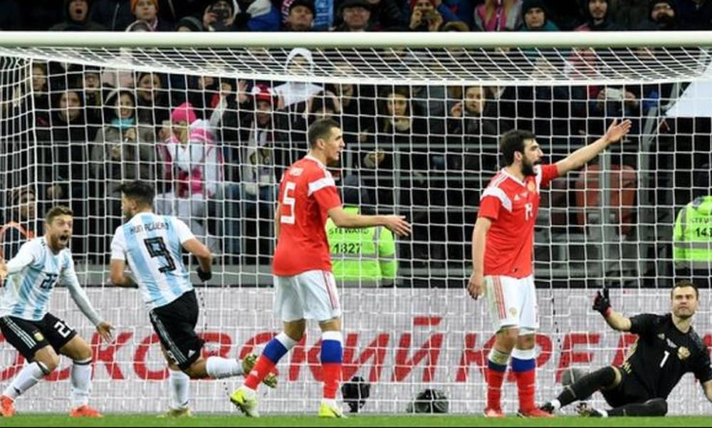 Ρωσία-Αργεντινή 0-1: Με την ψυχή στο στόμα η «αλμπισελέστε» (vid)