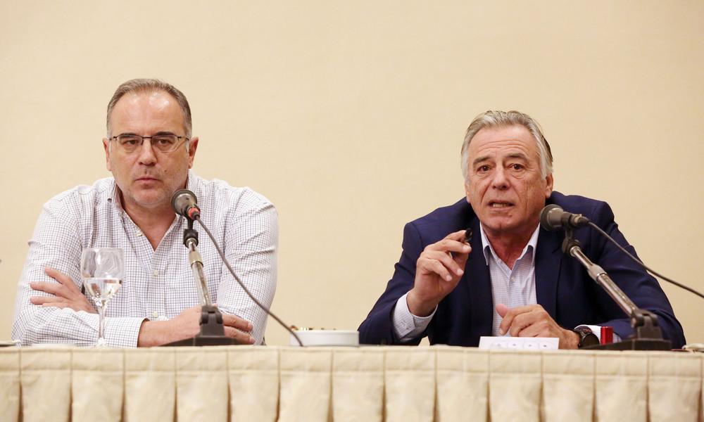 Ελλάδα: Αυτοί είναι οι βοηθοί Σκουρτόπουλου στην εθνική
