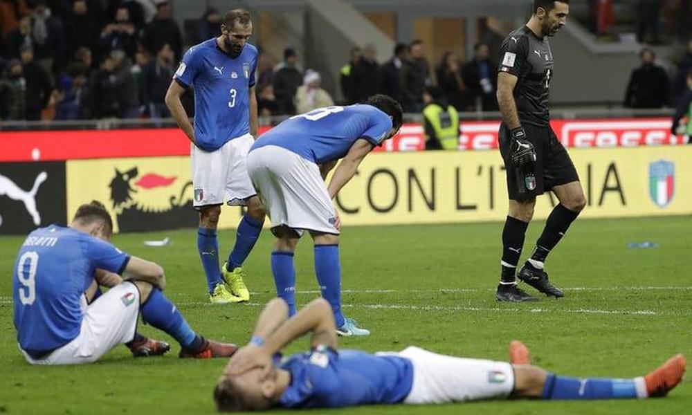 Η Σουηδία πέταξε εκτός Μουντιάλ την Ιταλία μετά από 60 χρόνια!