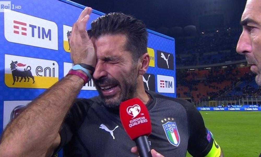 Συγκλονιστικό: Ξέσπασε σε κλάματα ο Μπουφόν και είπε το «αντίο»! (vid)