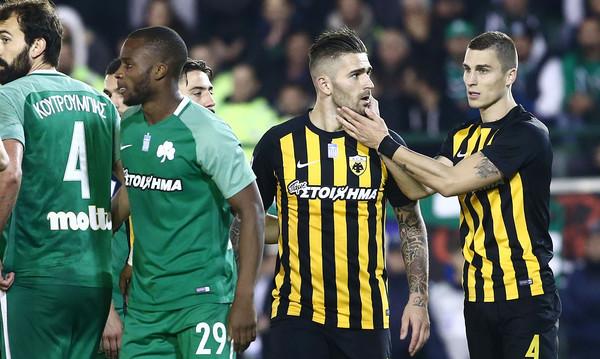 Παναθηναϊκός - ΑΕΚ 1-1: Έσωσε την παρτίδα με Λιβάγια σε νεκρό χρόνο
