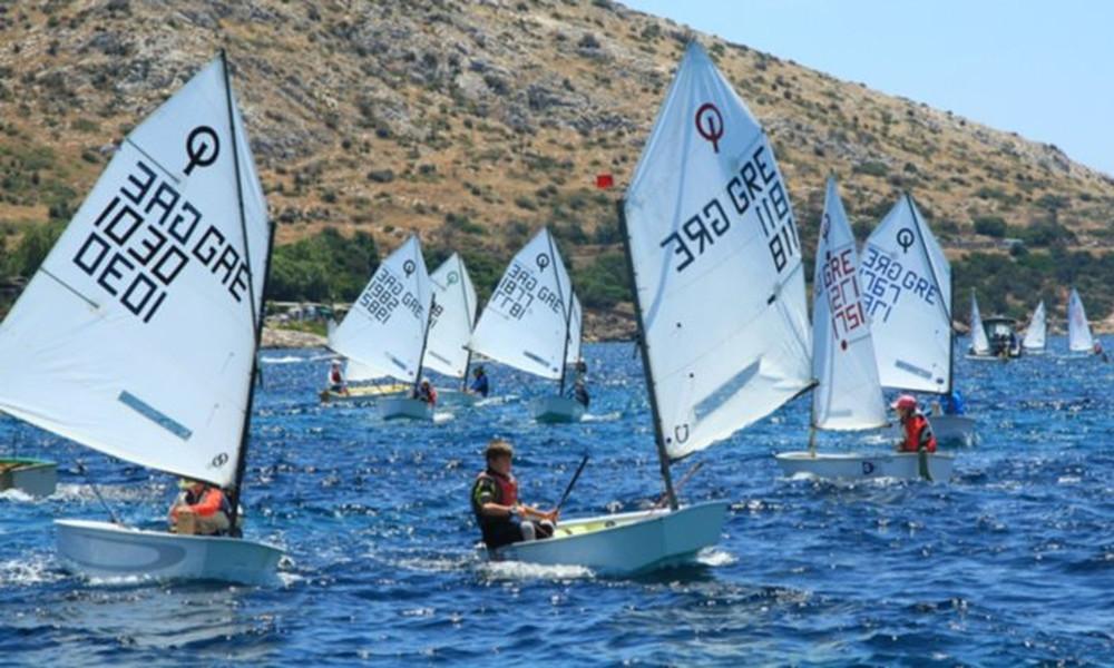 Ιστιοπλοΐα: Αγώνες όπτιμιστ και Λέιζερ 4,7 στην Κρήτη