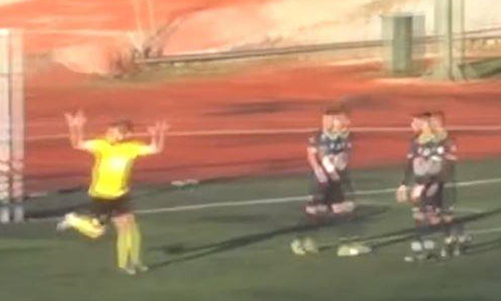 Χαμός σε τοπικό πρωτάθλημα: Κίνηση αλά Χιμένεθ από παίκτη! (video)