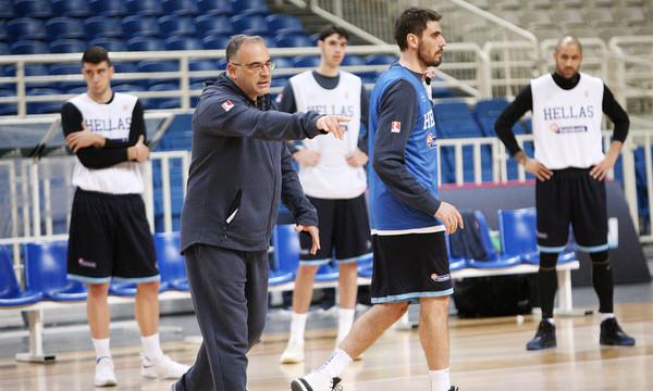 Σκουρτόπουλος: «Η ομάδα είναι ίδια, είναι η Εθνική Ελλάδας»