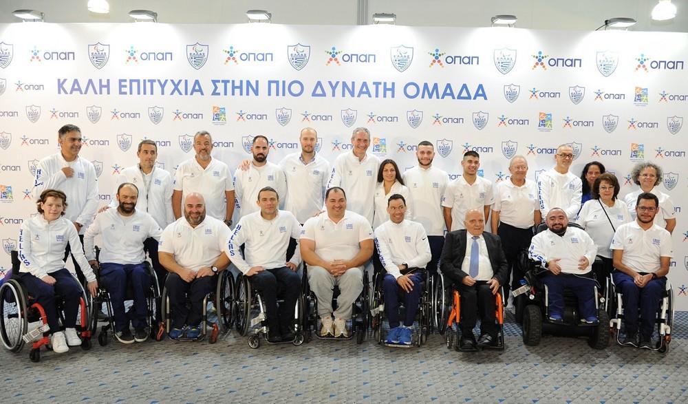 O ΟΠΑΠ εύχεται «καλή επιτυχία» στους αθλητές των εθνικών ομάδων κολύμβησης και άρσης βαρών σε πάγκο