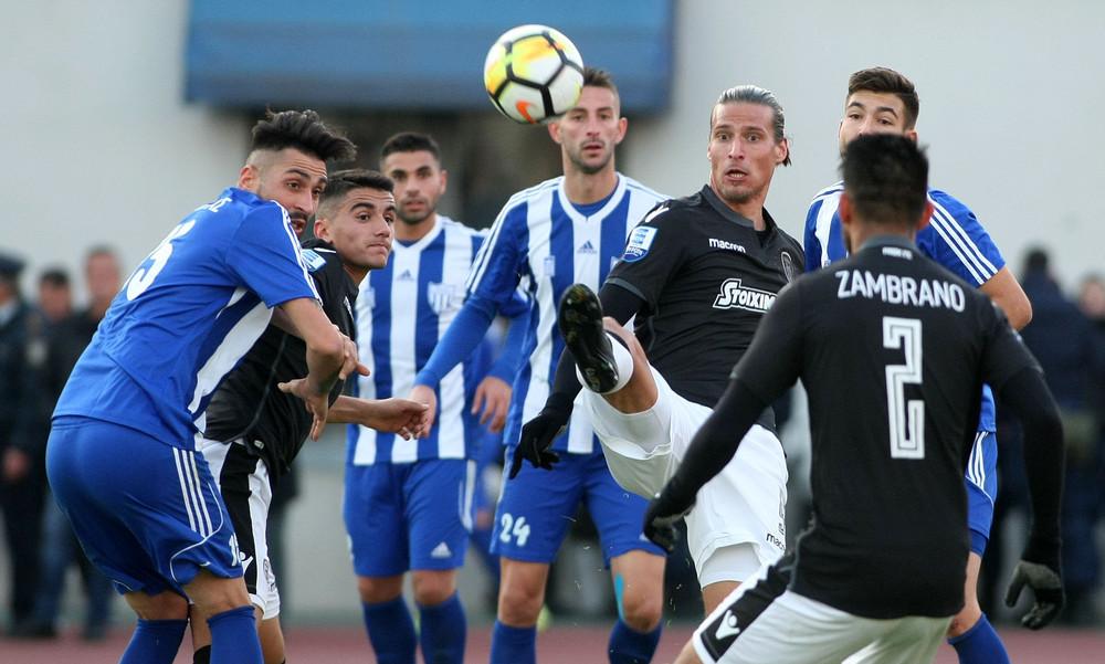 Αιγινιακός-ΠΑΟΚ 0-5: Τα γκολ και οι φάσεις του αγώνα (video)