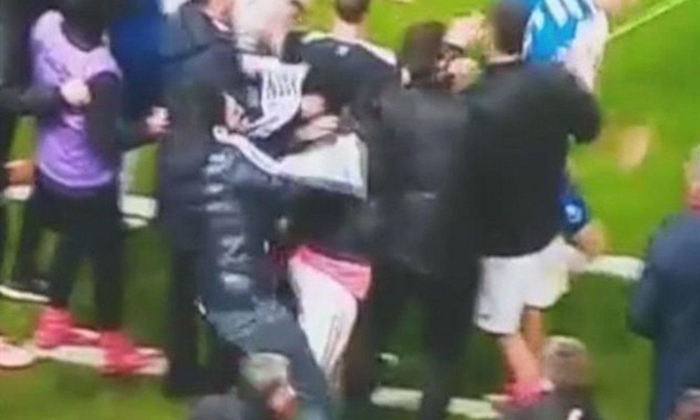 «Ντου» και επίθεση οπαδού της Μπενφίκα σε παίκτη της Πόρτο! (video)