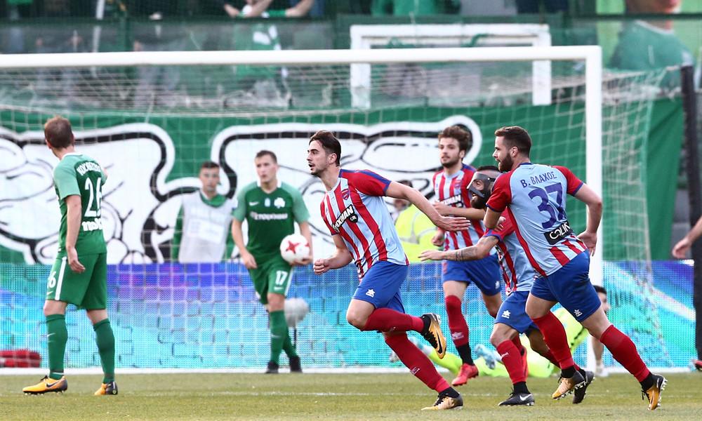 Παναθηναϊκός-Πανιώνιος 0-1: Ο Ντουρμισάι «έριξε» τη Λεωφόρο