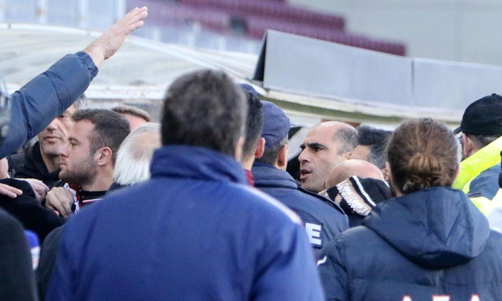 ΑΠΙΣΤΕΥΤΟ: Επεισόδιο Κούγια-Φυντάνη μετά το γκολ της Λάρισας! (photos)