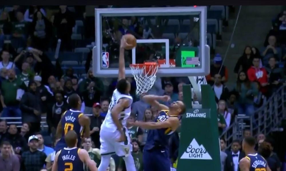 NBA: Επική καρφωματάρα! Ο Αντετοκούνμπο έκανε poster τον Γκόμπερτ! (video)