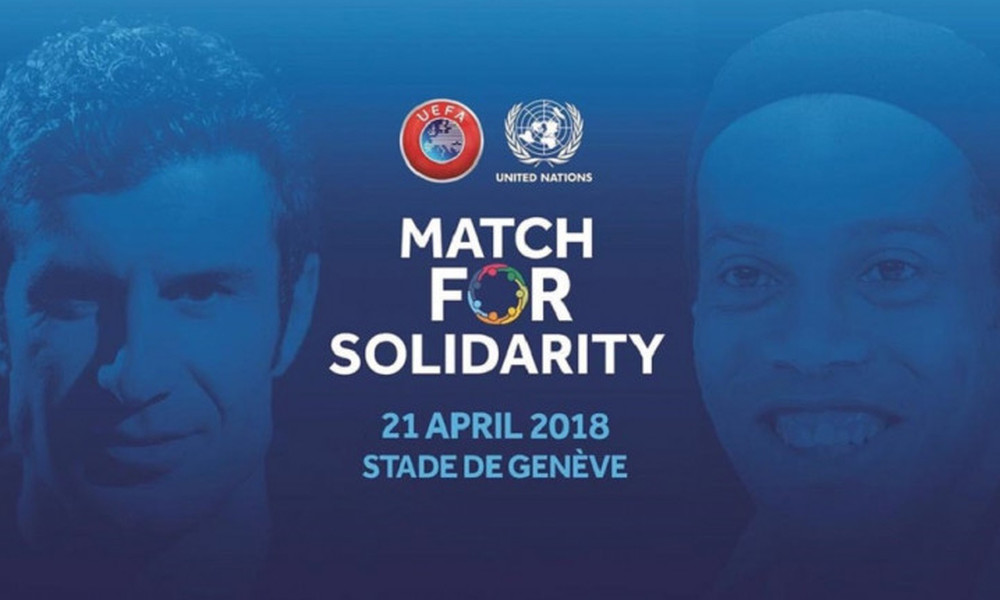 UEFA και ΟΗΕ ενώνουν τις δυνάμεις τους!