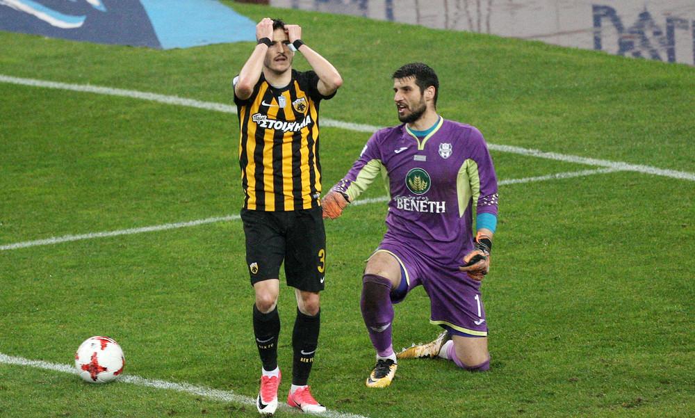 AEK-Απόλλων Σμύρνης 0-0: Την «μπλόκαρε» το πούλμαν του Παράσχου