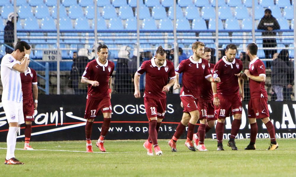 Λαμία-ΑΕΛ 0-2: Μεγάλο «διπλό» με Nτέλεσιτς!