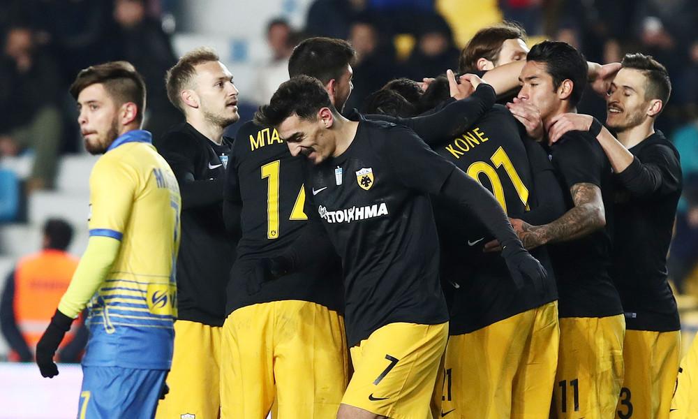 Παναιτωλικός-ΑΕΚ 0-4: Πέρασε σαν… άνεμος από το Αγρίνιο