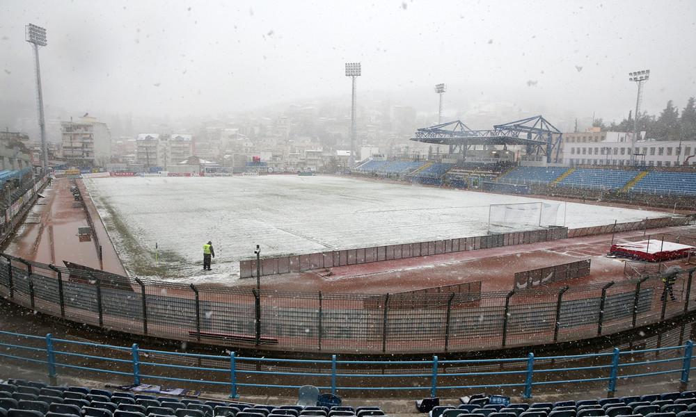Λαμία - Παναθηναϊκός: Ανατροπή και… αναβολή λόγω χιονιού (photos)