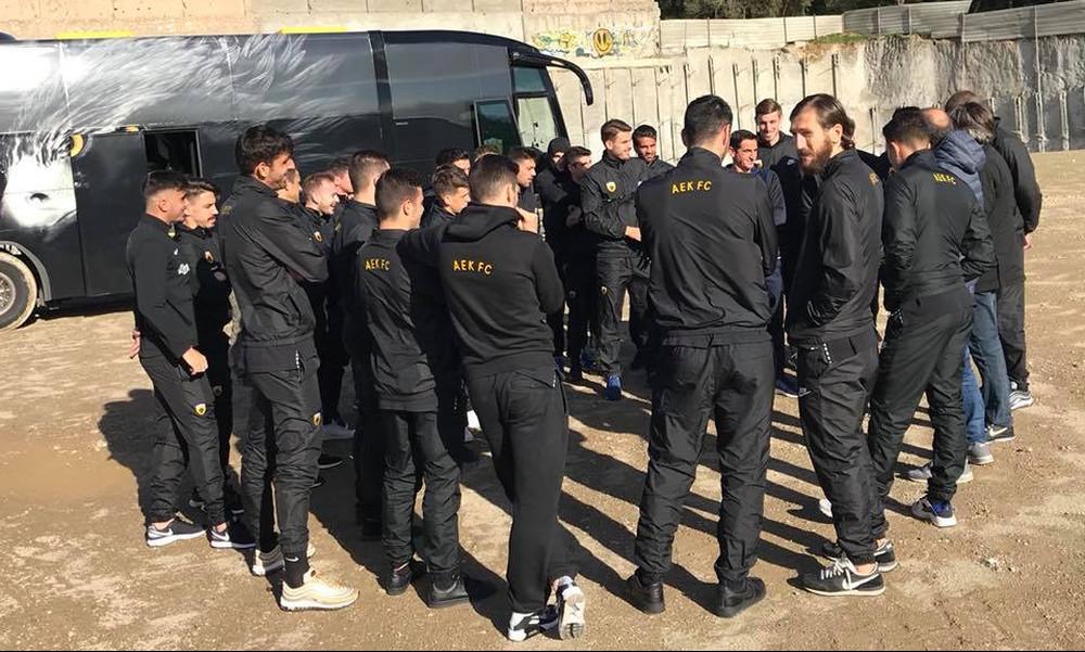 «Η ΑΕΚ επέστρεψε στο σπίτι της» (photo)