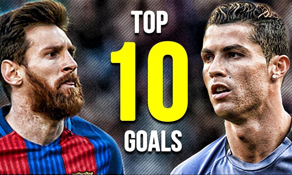 Το top 10 των καλύτερων γκολ από Ρονάλντο και Μέσι για το 2017! (video)