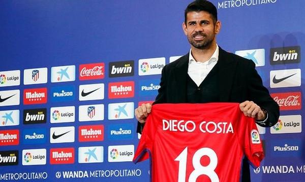 Η Ατλέτικο Μαδρίτης καλωσόρισε τον Ντιέγκο Κόστα στο… σπίτι του