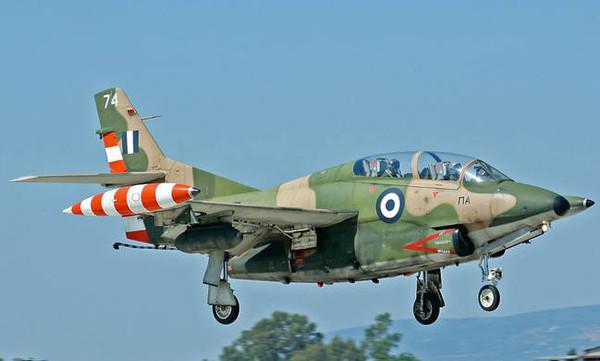 Συνετρίβη αεροσκάφος της Πολεμικής Αεροπορίας