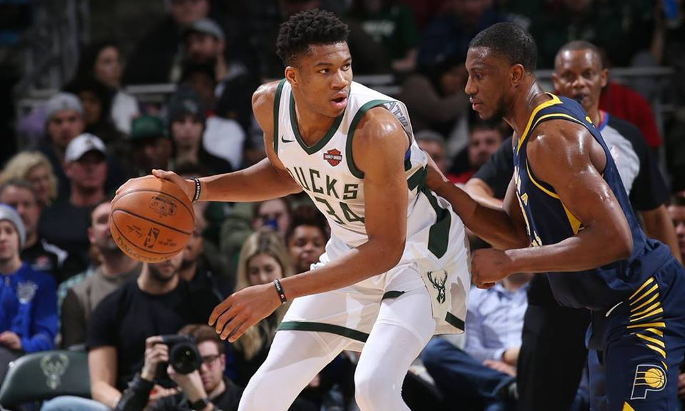 NBA: Οργίασε κόντρα στους Πέισερς ο Αντετοκούνμπο! (photos+video)
