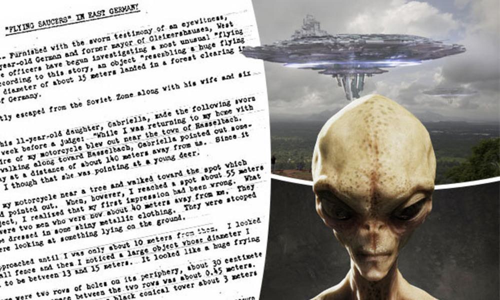 Επικό! Η CIA έδινε οδηγίες για το πώς πρέπει να φωτογραφηθεί ένα UFO! (photos)