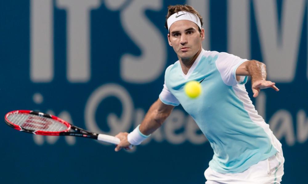 Australian Open: «Ζεσταίνεται» ο Φέντερερ