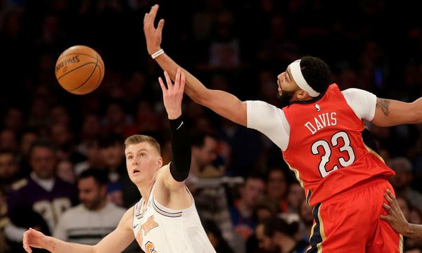 NBA: Διαστημικός Ντέιβις στη Νέα Υόρκη! (videos)