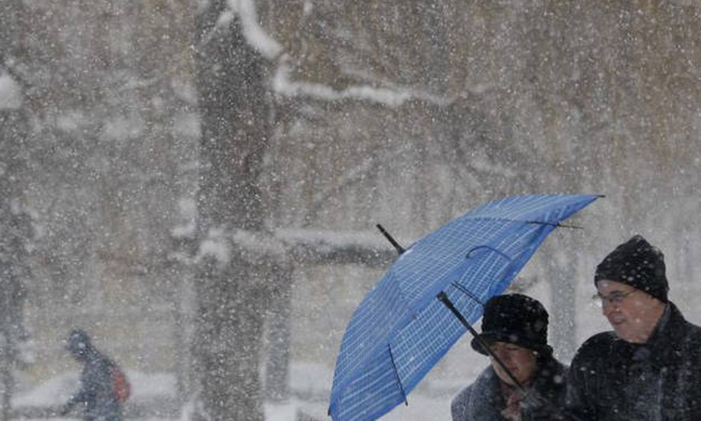 Καιρός: Βροχές και χιόνια την Τετάρτη (17/1) - Αναλυτική πρόγνωση