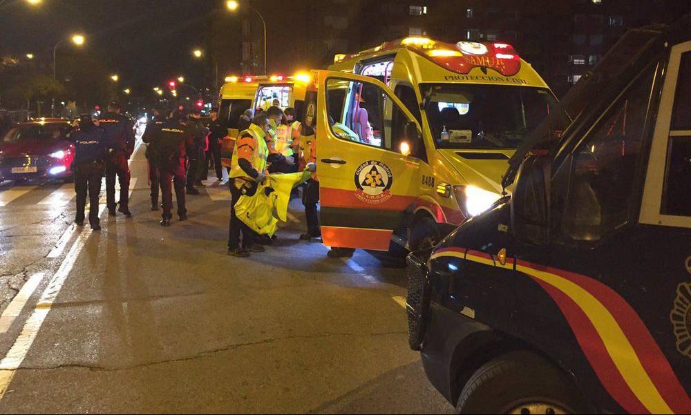 Σοκ στην Μαδρίτη! Μαχαιρώθηκε οπαδός της Ατλέτικο (photos+video)