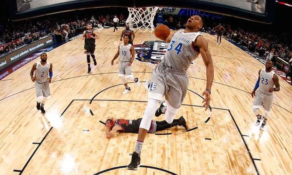 NBA All Star Game: Φοβάται… και θέλει Giannis ο Κάρι! (photos+videos)