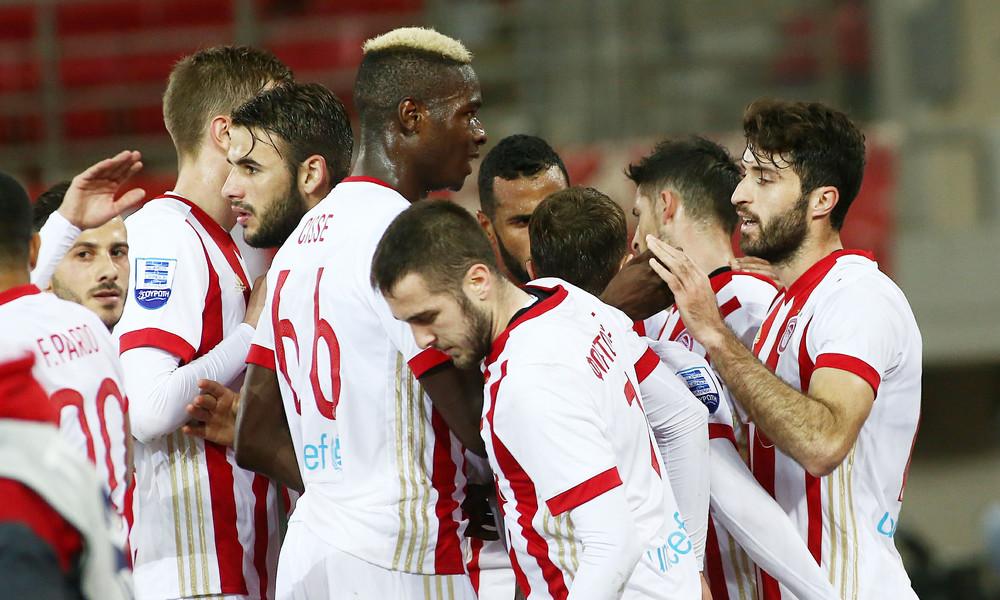 Ολυμπιακός - Ξάνθη 3-0: Την «έπνιξε» και βλέπει ΑΕΚ! (photos)