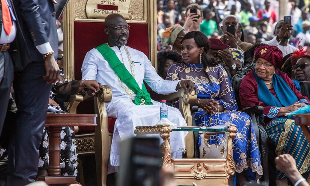 Λιβερία: Ορκίστηκε Πρόεδρος ο Γουεά!