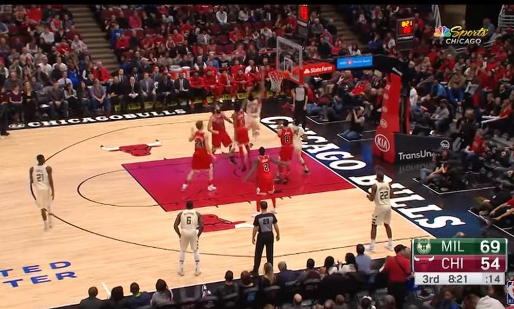 NBA: Καρφωματάρα Αντετοκούνμπο στο Top 10 (video)
