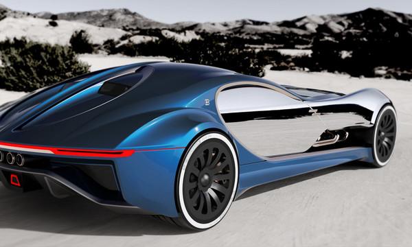 H Bugatti ετοιμάζει από τώρα το αμάξι του μέλλοντος