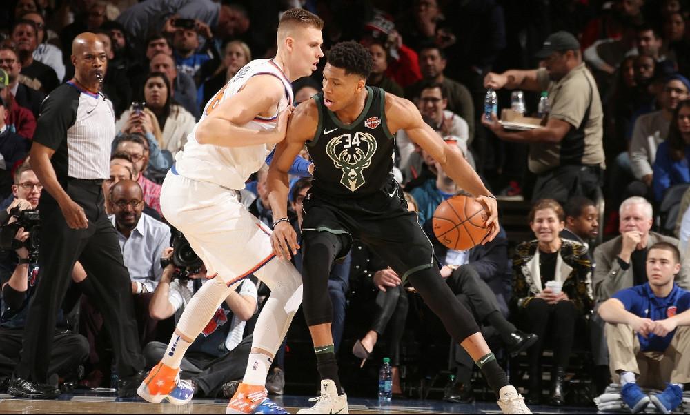 NBA: «Διπλό» στη Νέα Υόρκη με Αντετοκούνμπο οι Μπακς (photos+video)