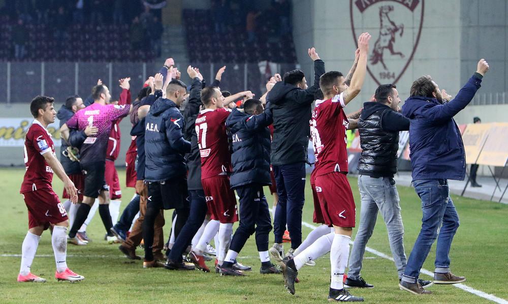 Τα γκολ και οι πανηγυρισμοί της ΑΕΛ για την πρόκριση στα ημιτελικά του Κυπέλλου (video+photos)