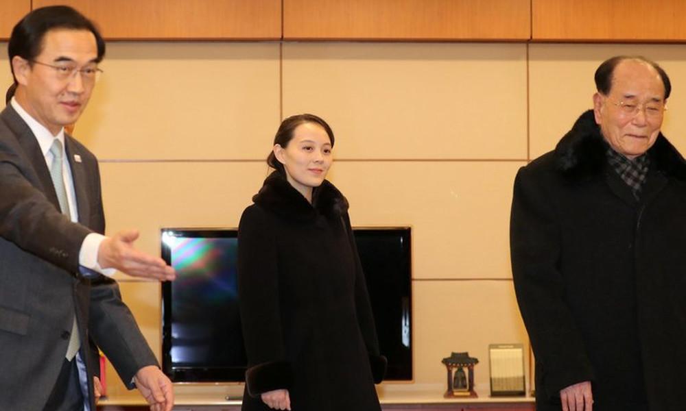Χειμερινοί Ολυμπιακοί Αγώνες: Έφτασε η Βόρεια Κορέα με την αδερφή του Κιμ Γιονγκ Ουν