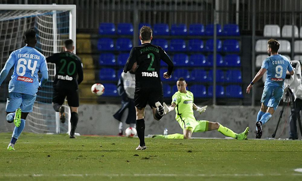 ΠΑΣ Γιάννινα-Παναθηναϊκός 2-1: Τον «σκότωσε» ο Κόντε