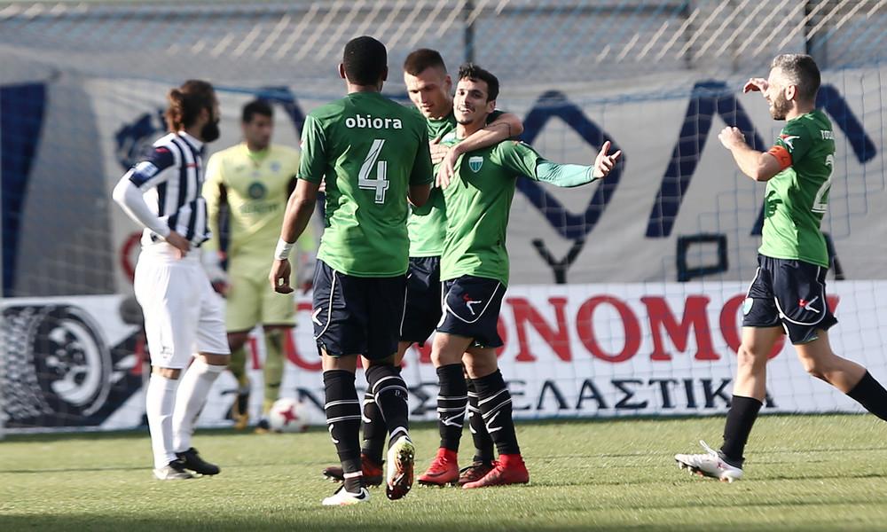 Απόλλων Σμύρνης-Λεβαδειακός 1-1: Τον «πλήγωσε» ο Γιακουμάκης!