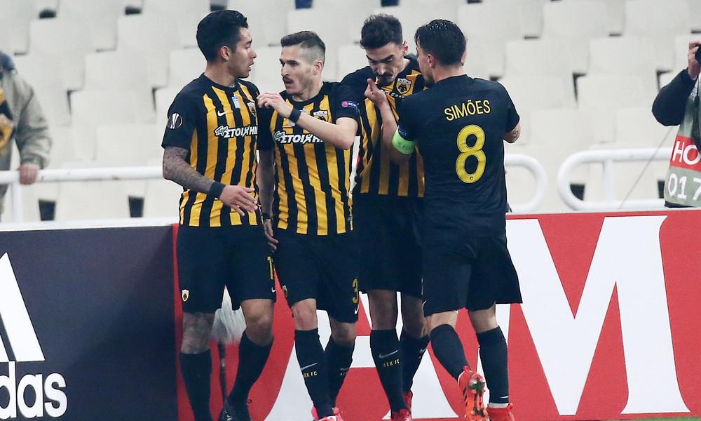 Live Chat ΑΕΚ-Ντιναμό Κιέβου 1-1 (τελικό)