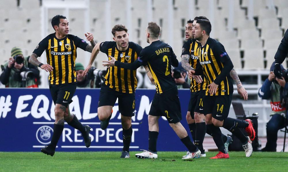 ΑΕΚ-Ντιναμό Κιέβου 1-1: Ο Αϊντάρεβιτς την κρατά στο κόλπο της πρόκρισης
