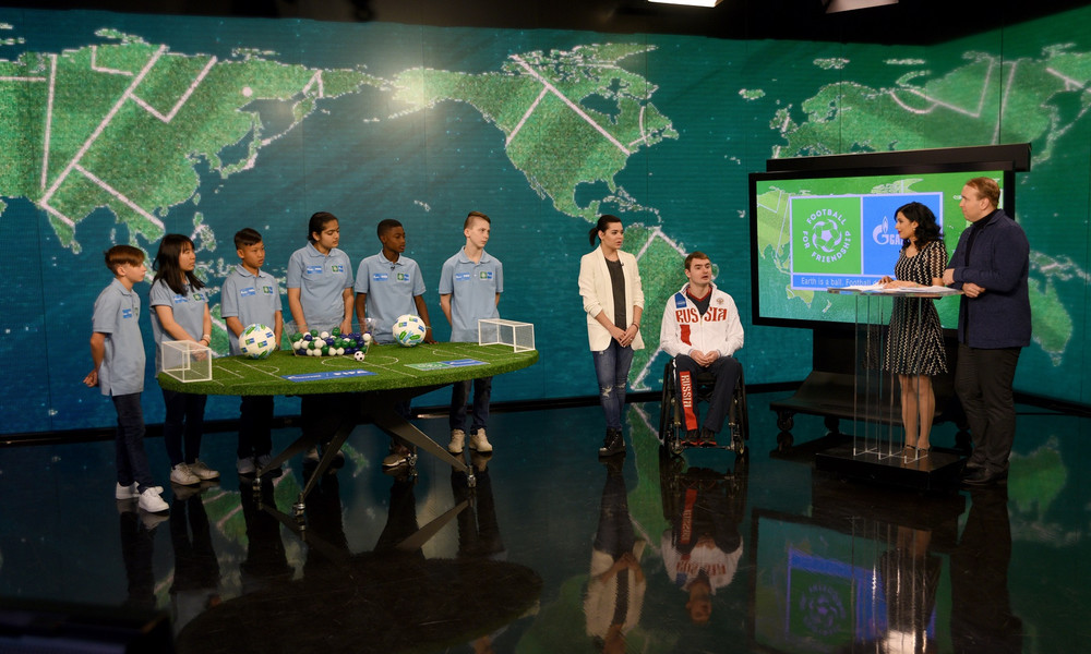 Football 4 Friendship: Το Διεθνές Πρόγραμμα της Gazprom ενώνει παιδιά από 211 χώρες (photos+video)