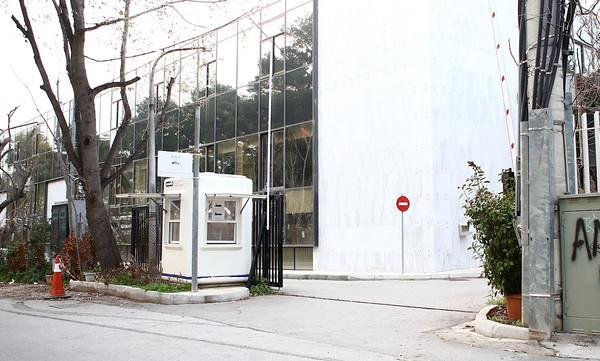 Συνθήματα έξω από τα γραφεία της ΠΑΕ Παναθηναϊκός (photos)