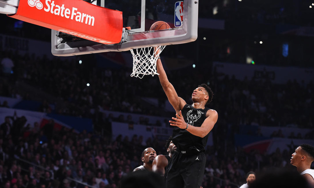 NBA All Star Game: Οι κορυφαίες στιγμές του Αντετοκούνμπο (video)