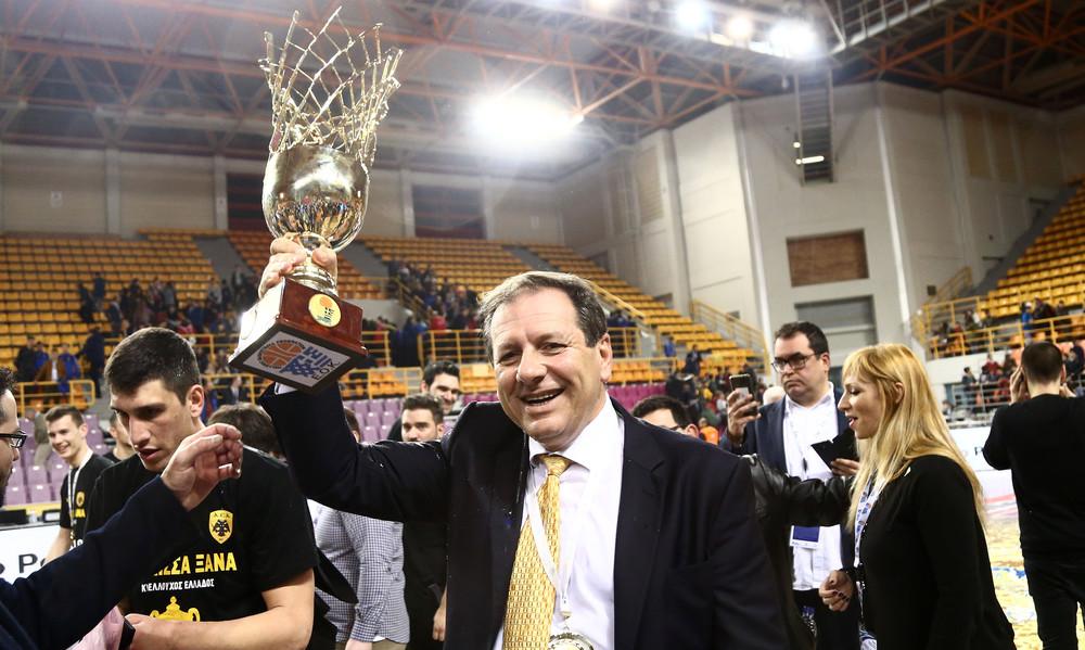 Αγγελόπουλος: «Το Final 4 στο ΟΑΚΑ»