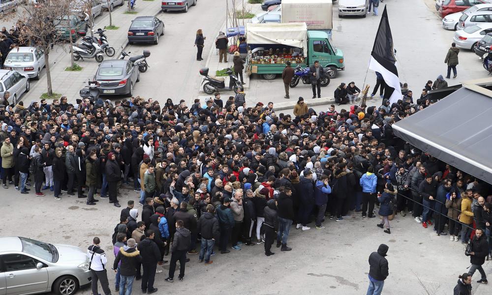 ΠΑΟΚ - Ολυμπιακός: Αυτή η φωτογραφία σαρώνει για την τρέλα των οπαδών του «Δικέφαλου» (photo)