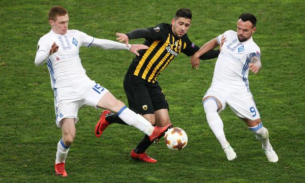 Ντιναμό Κιέβου - ΑΕΚ: Έτσι θα παίξουν οι «κιτρινόμαυροι» (photos)